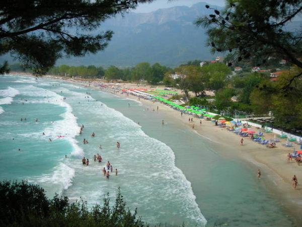 Golden Beach Apartmani 2020 Tasos Golden Beach Leto 2020