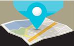 Jerisos mapa, lokacija, mapa Jerisos atos grcka