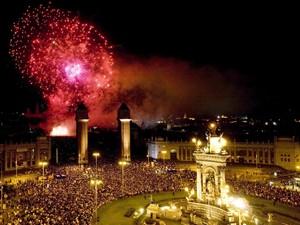 docek nove godine barselona 2018, nova godina barselona 2018 spanija, barselona nova godina 2018