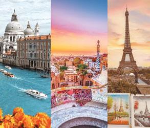 ponuda-putovanja-daleke-destinacije, Italija Spanija Francuska putovanja za prvi maj 2020